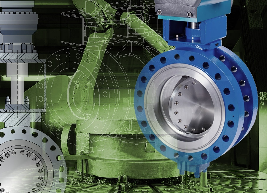 Triple Exentrical Butterfly Valves